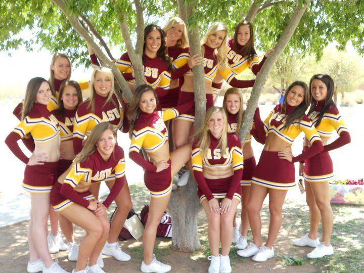 University of arizona cheerleader love
