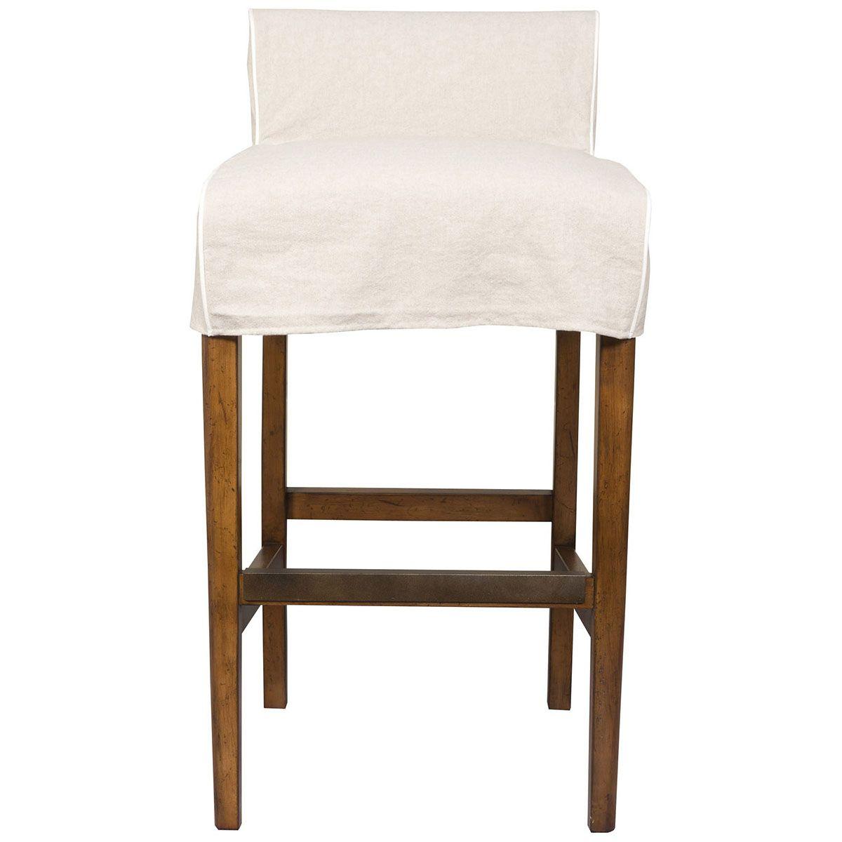Vanguard Furniture Salty Dog Bar Stool Slipcover Grommet Lacing S5511 Bs