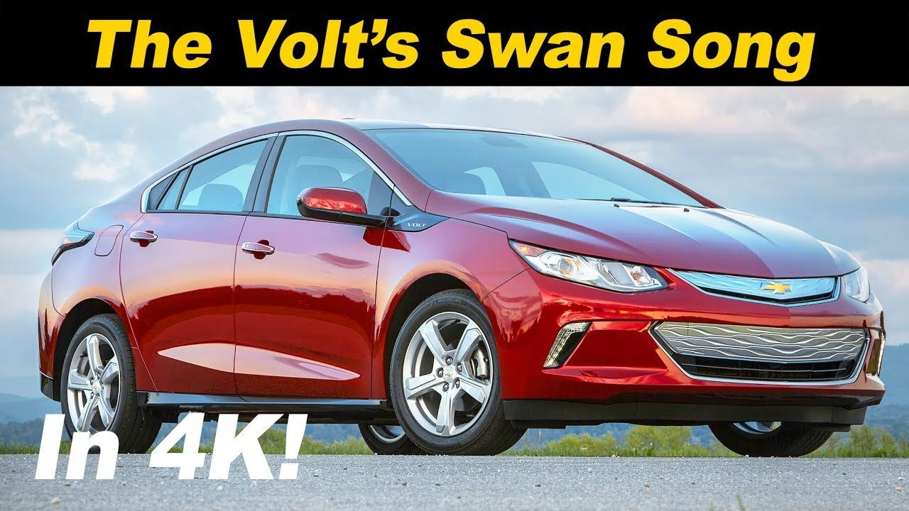 2019 Chevrolet Volt Review The Plug In Swan Song Youtube