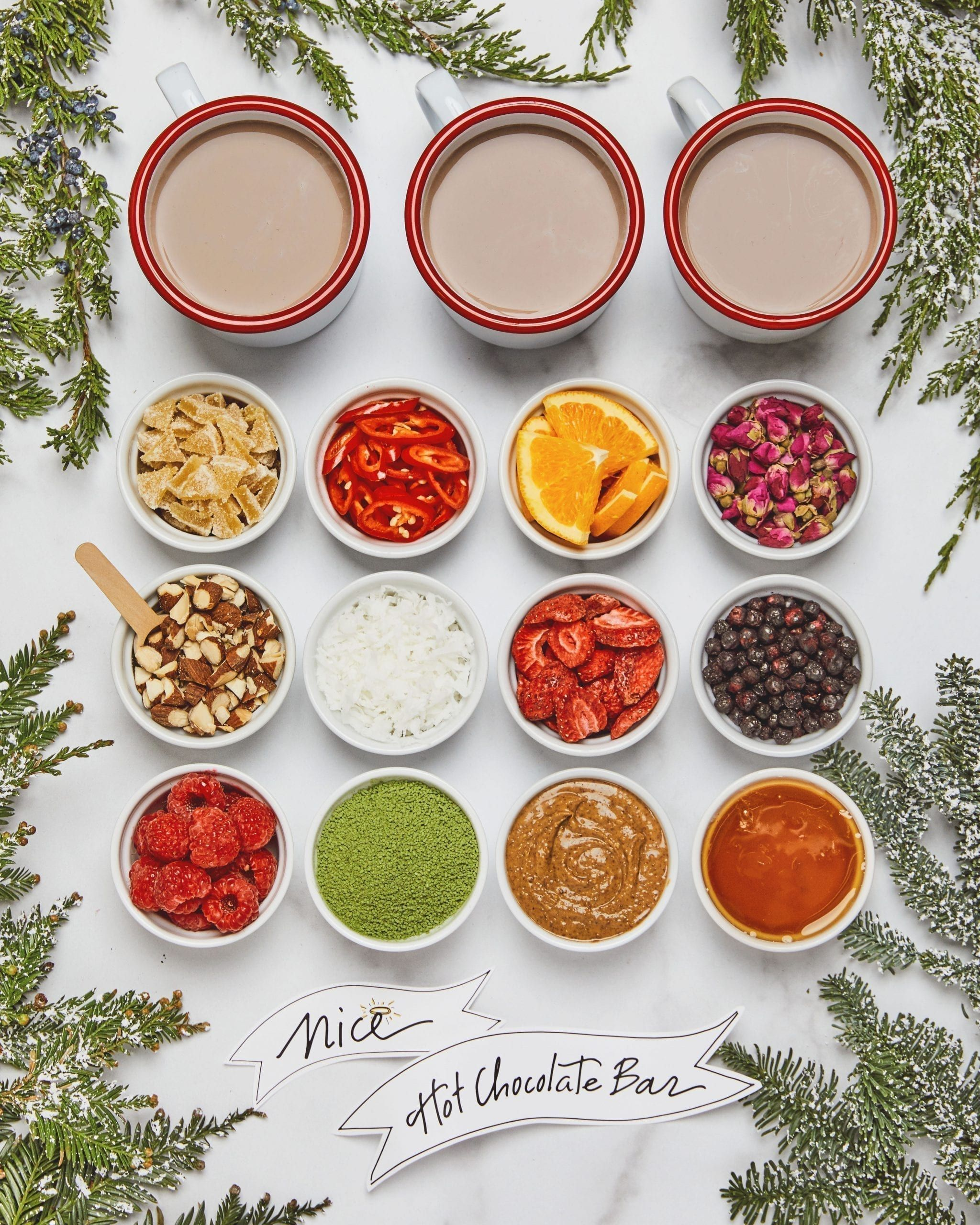 Mix-Your-Own Hot Chocolate Bar | Darcy Miller Designs