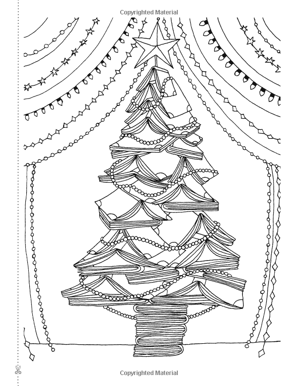 Creative Christmas Tree Colouring Book A Collection Of Classic Contemporary Trees To Colour