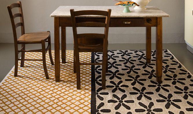 Karpet - Doubleface Fleur