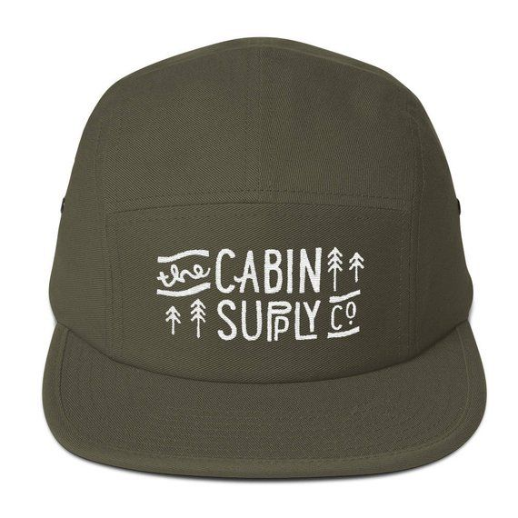 The Cabin Supply Co - Five Panel Cap  f3a1d03aba82