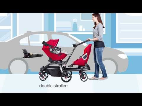 Kids2sit - Der innovative Geschwister Sitz / One Pram, two ...
