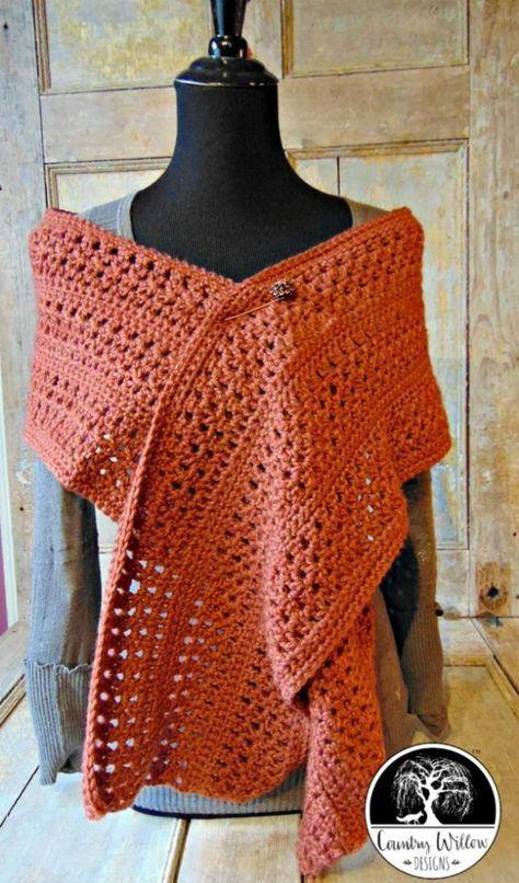 Gail Marie\'s Terracotta Scarf- A Free Crochet Pattern | Sew scarves ...