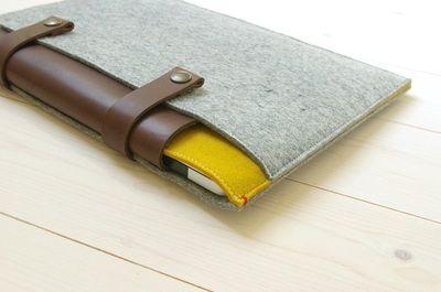 Westerman Bags - Iphone hoesjes, Ipad covers & laptoptassen van vilt & leer in eco-design!