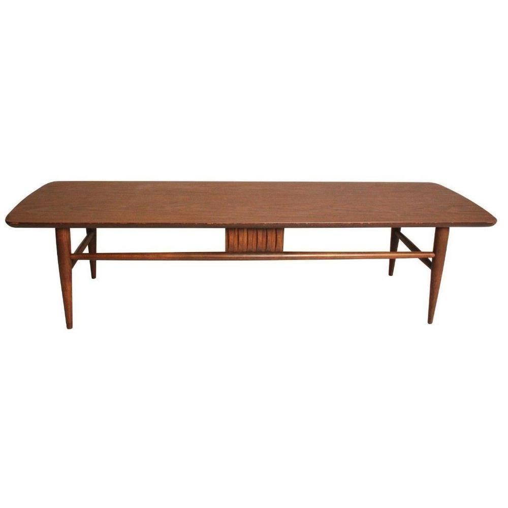 Danishmodern Living Room Furniture:  Danish Modern COFFEE TABLE Wood Mid Century Vintage