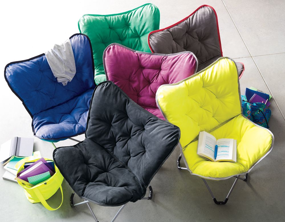 Cushy Butterfly Chairs Are A Space Saving Dream Kohls Student