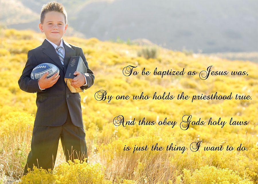 boy baptism - poem | LDS Baptism | Pinterest | Bautismo, LDS y Tarjetas