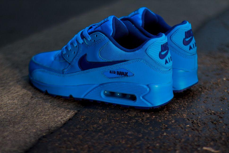 Nike Air Max 90 GS  Deep Royal Photo Blue  3625b256a451