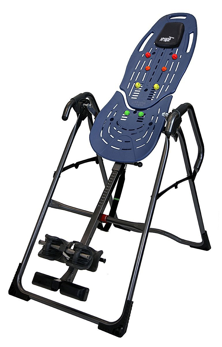 Teeter Hang Ups Ep 860 Inversion Table With Flexible Comfortrak Bed Lum Hsn Inversion Table Inversions Day Bag