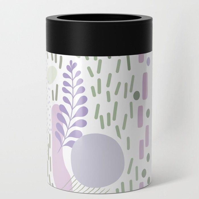 Buy Close to Nature  Simple Doodle Pattern 1 Can Cooler by Dominique Vari Worldwide shipping available at  giftidea
