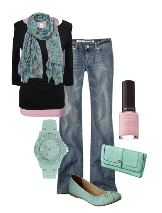 Frugal Fashionista:  Pink and Mint #mommysavers - The shoes, watch, clutch and jeans are from #Target