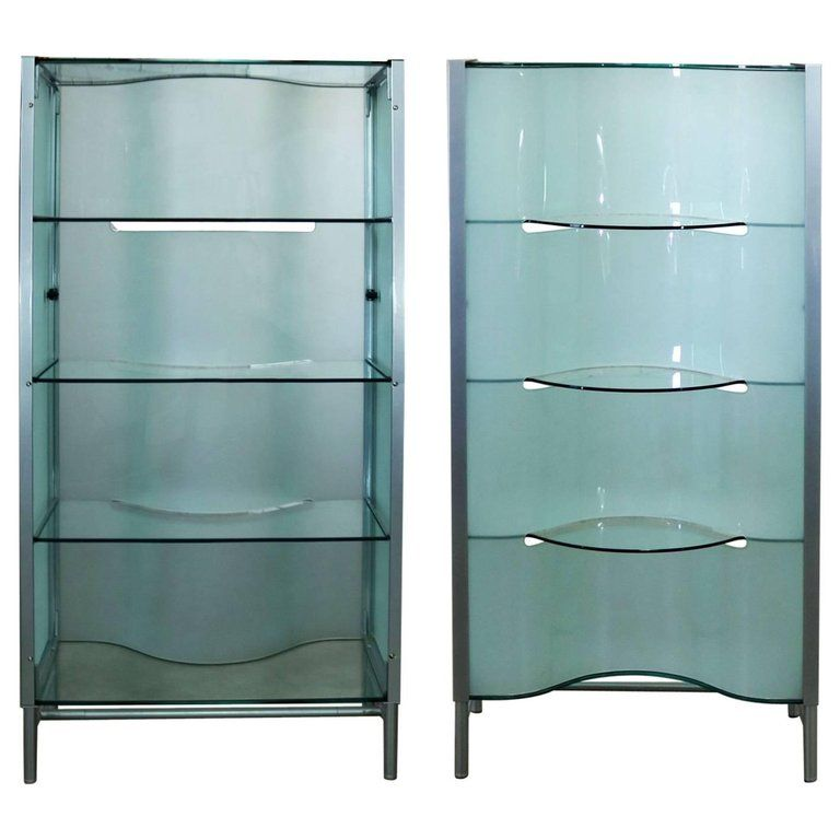 1stdibs Vitrine Dual Sided Enclosed Display Etagere Cabinet Room