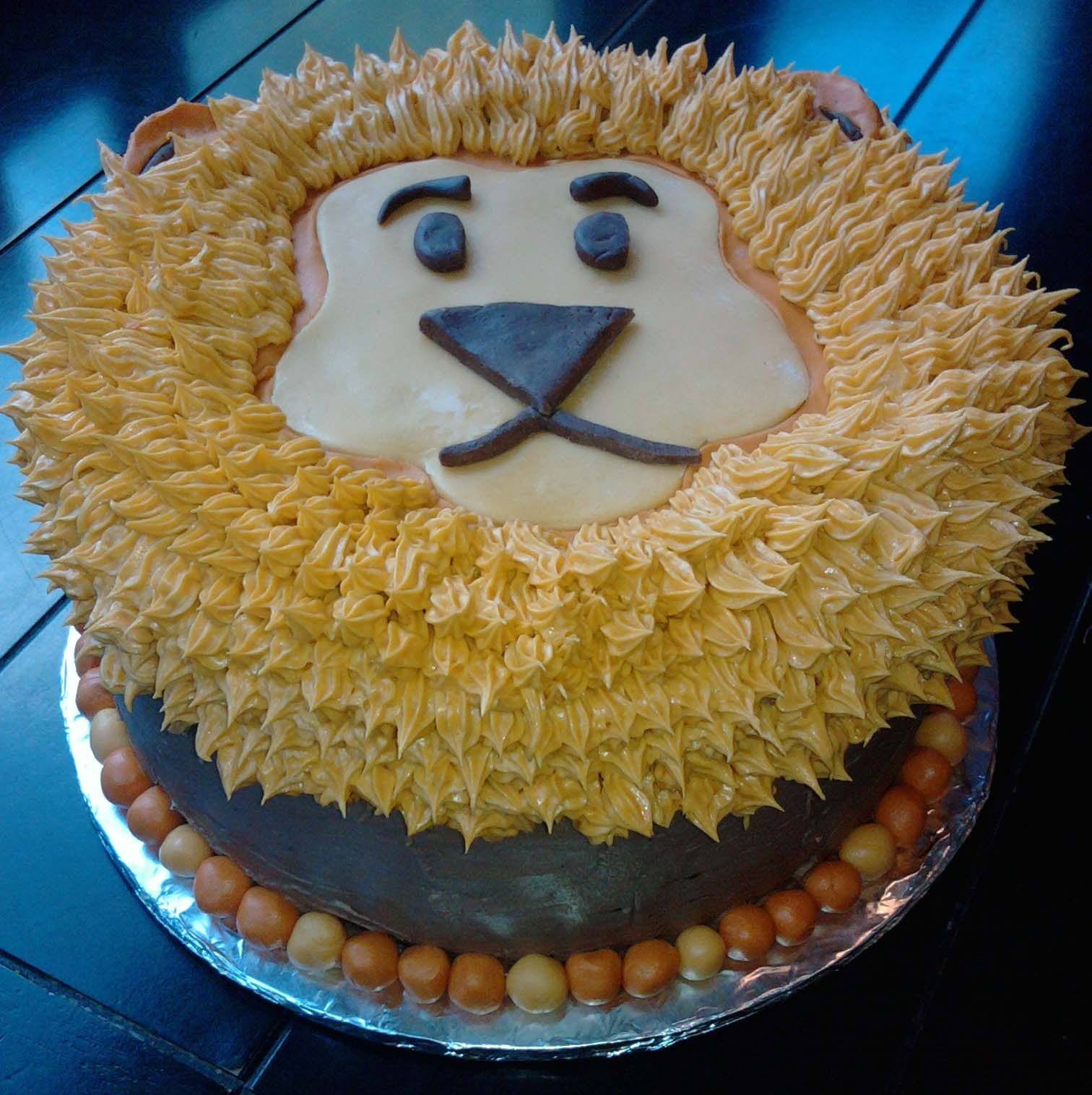 Cake Design For Ian S Lion King Birthday 1st Birthday On