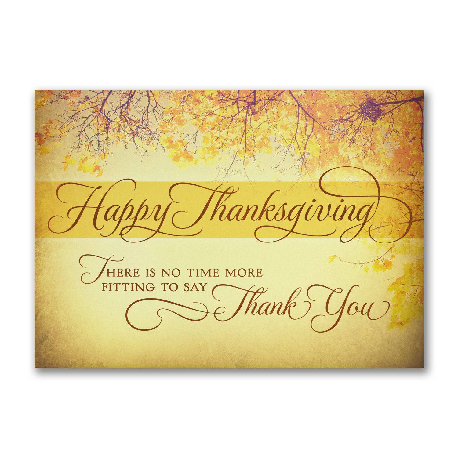 Luminous Thanksgiving Send A Thanksgiving Message With This Luminous Card. Associates And