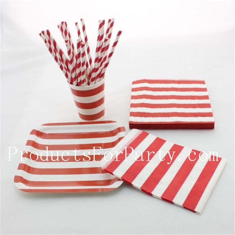 Red paper dinnerware set--paper straw paper cup paper plate paper  sc 1 st  Pinterest & Red paper dinnerware set--paper straw paper cup paper plate paper ...