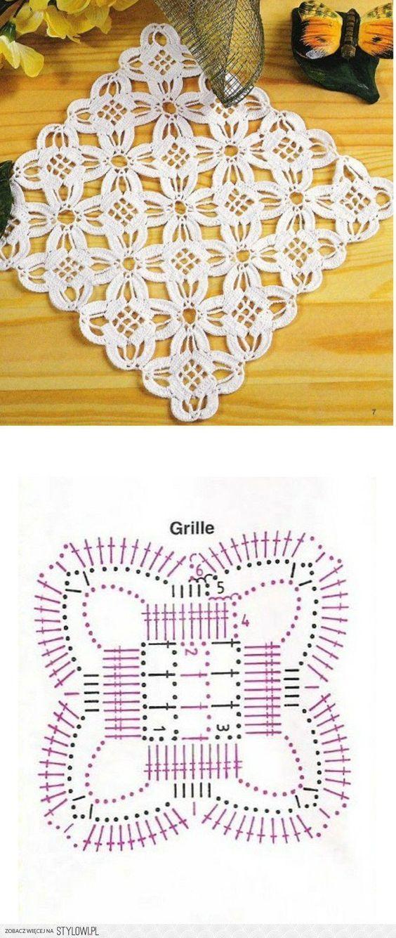 Pin de Gemma Roca Cansino en patrones ganchillo | Pinterest | Croché ...