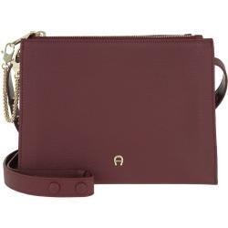 Photo of Aigner Lana S Crossbody Bag Burgundy in rot Umhängetasche für Damen Aigner