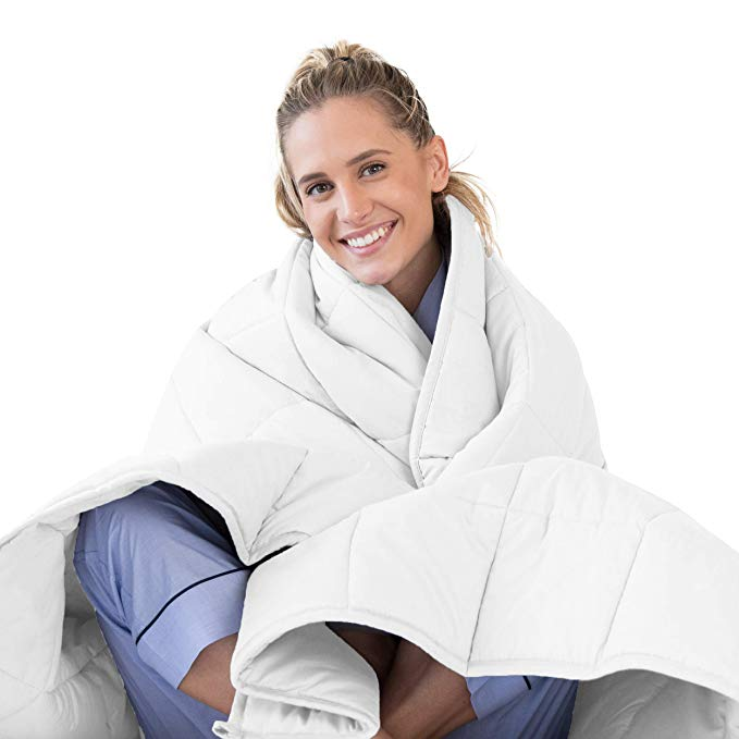 Amazon Com Luna Weighted Blanket 20 Lbs 60x80 Queen Size