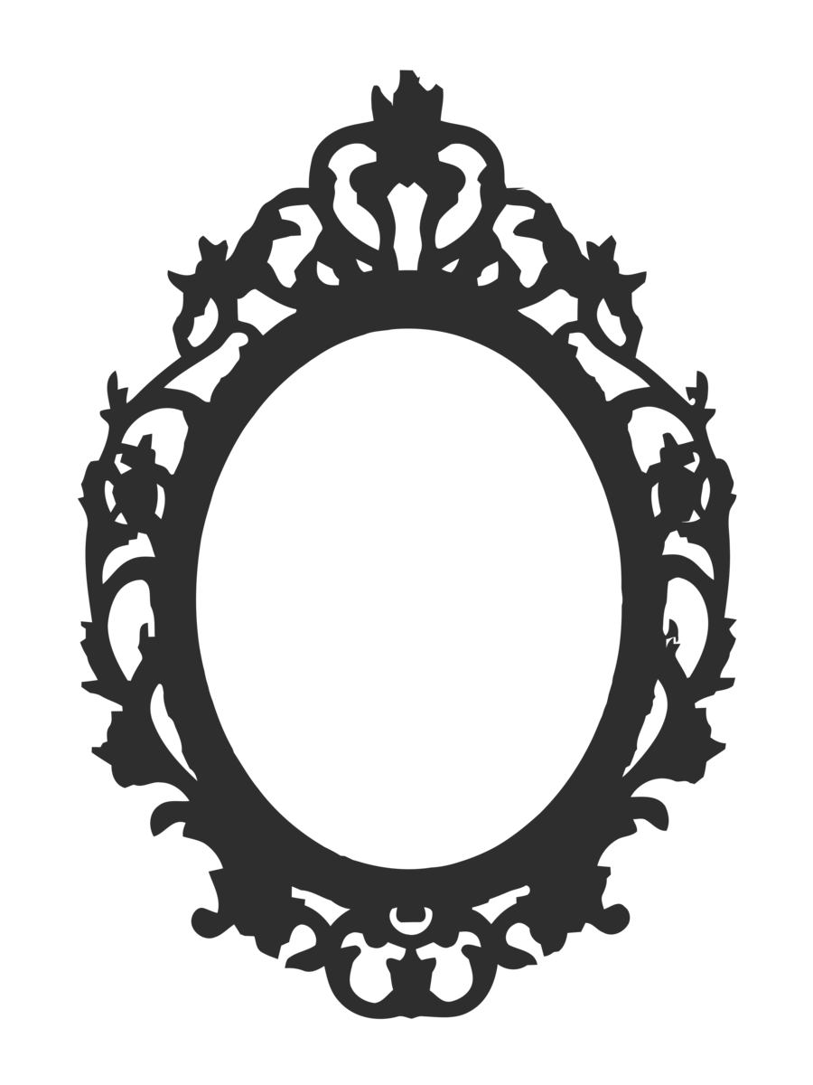 Mirror Drawing Clip Art Mirror 900 1200 Transprent Png Free Download Black And White Circle Oval Baroque Frames Frames On Wall Mirror Drawings