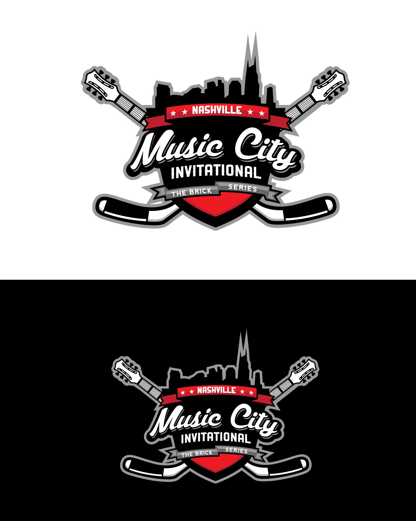 Logo Design For Nashville S Hockey Tournament Designed By Jk Graphix