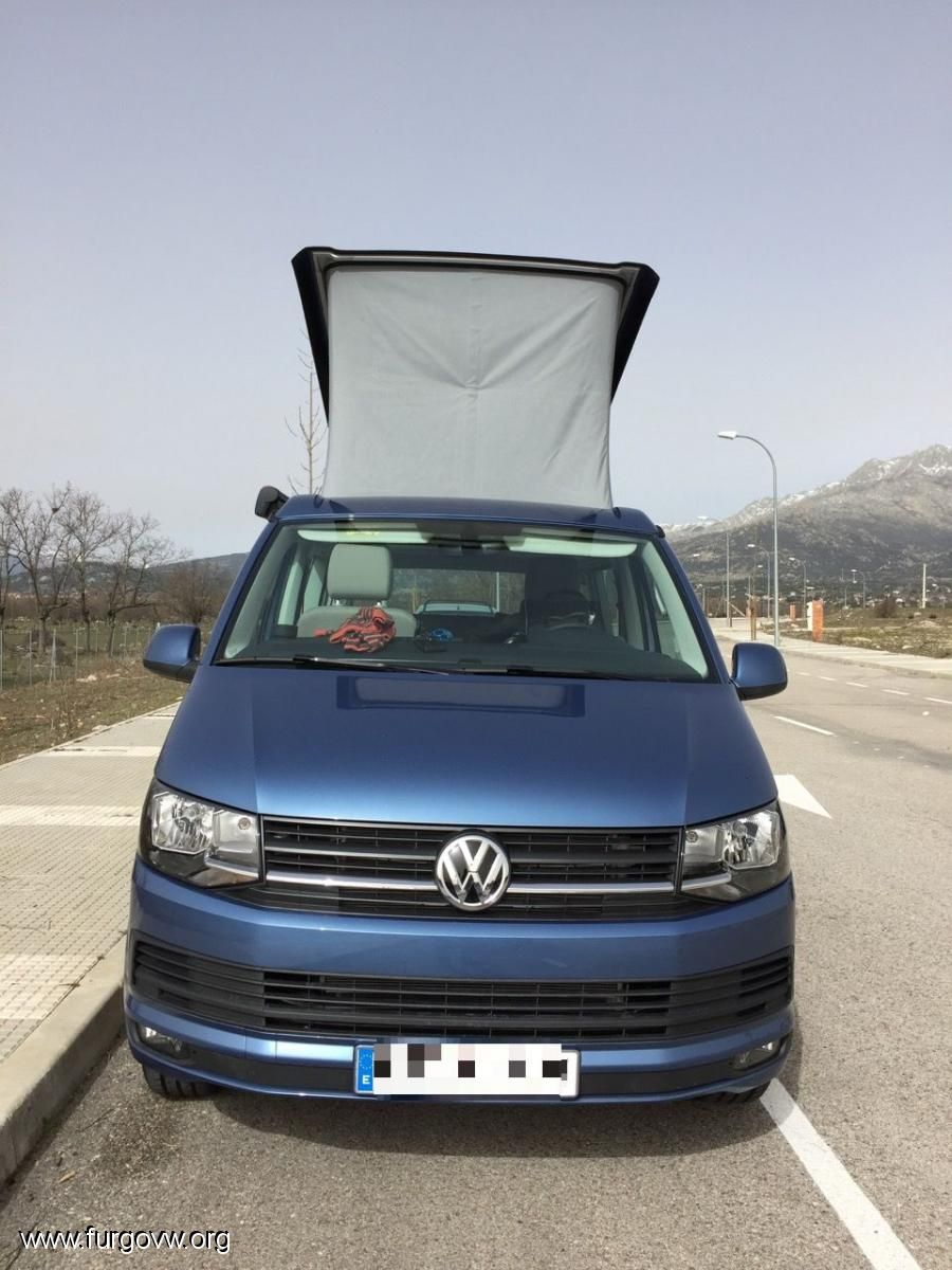 vw t6 california beach acapulco blue 150cv vw california. Black Bedroom Furniture Sets. Home Design Ideas