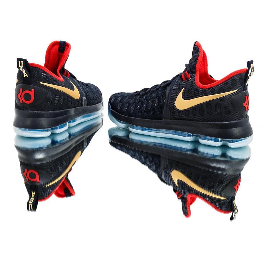 "newest ab168 5d43d Nike Zoom KD 9 ""Gold Medal"" | Pinnin away | Nike, Sneakers ..."