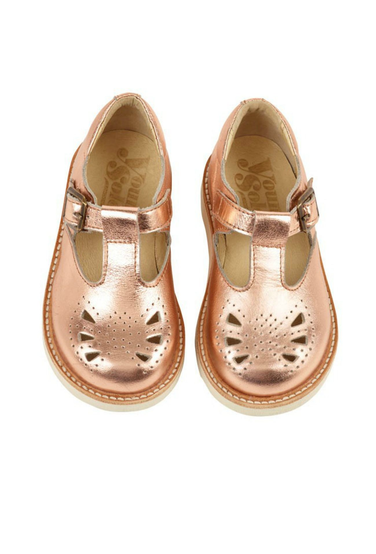 Rosie T-Bar Shoes   Young Soles   T
