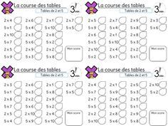 Champions de tables de multiplication cole - Exercices sur les tables de multiplication ce ...