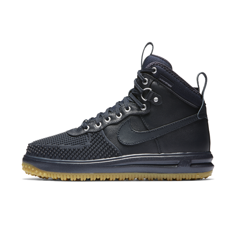 brand new b25b3 75c57 Nike Lunar Force 1 Duckboot Men s Boot Size 10.5 (Blue) - Clearance Sale