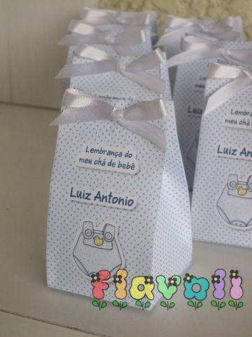 Lembrancinha para chá de bebê  :: flavoli.net - Papelaria Personalizada :: Contato: (21) 98-836-0113  vendas@flavoli.net