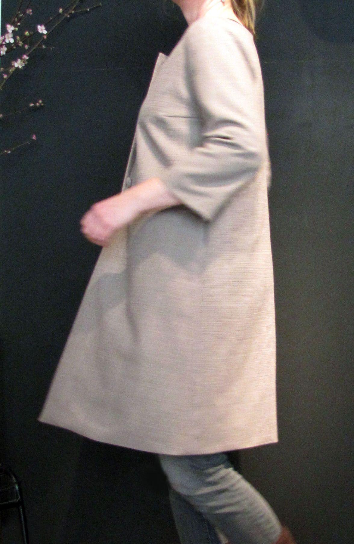 leichter Mantel * VON KITTEL * Frühling / Spring 2015