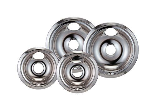Stanco 4 Pack Gehotpoint Electric Range Chrome Reflector Bowls
