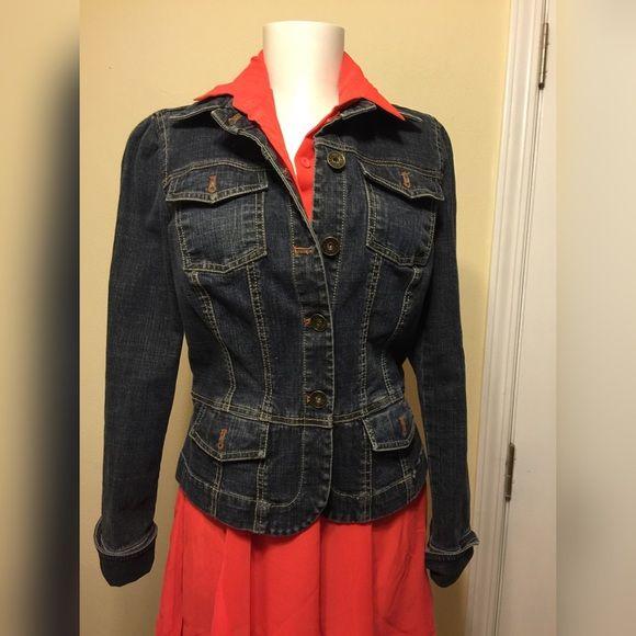 Calvin Klein Denim Jacket Dark blue Calvin Klein Denim Jacket Calvin Klein Jackets & Coats Jean Jackets
