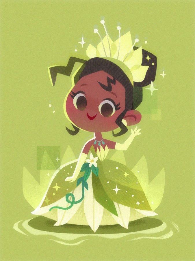 Princess Tiana Papier Peint Disney Art Des Fans De Disney