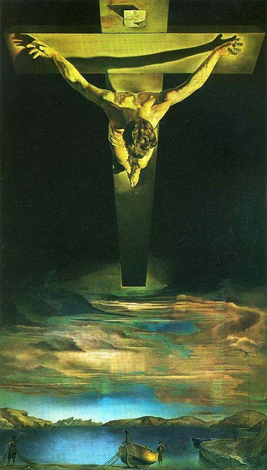 Salvador Dali - Cristo de São João da Cruz   Weirdo Pictures