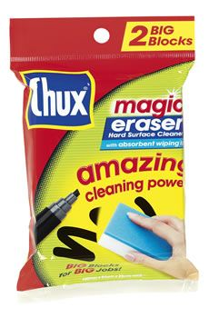 Magic Eraser - these are awesome for cleaning the whiteboard (not the interactive type obviously :) )