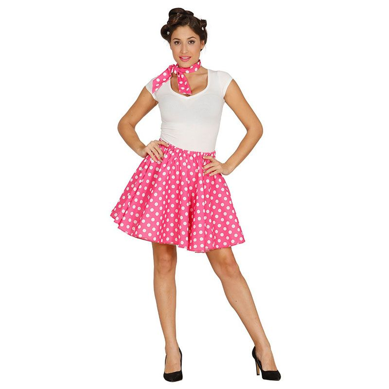 Disfraz de Pin Up Años 60 Rosa #carnaval #novedades2016   disfraces ...