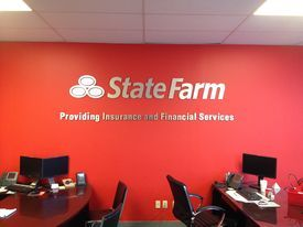 Office Signage Interior State Farm Office State Farm Office
