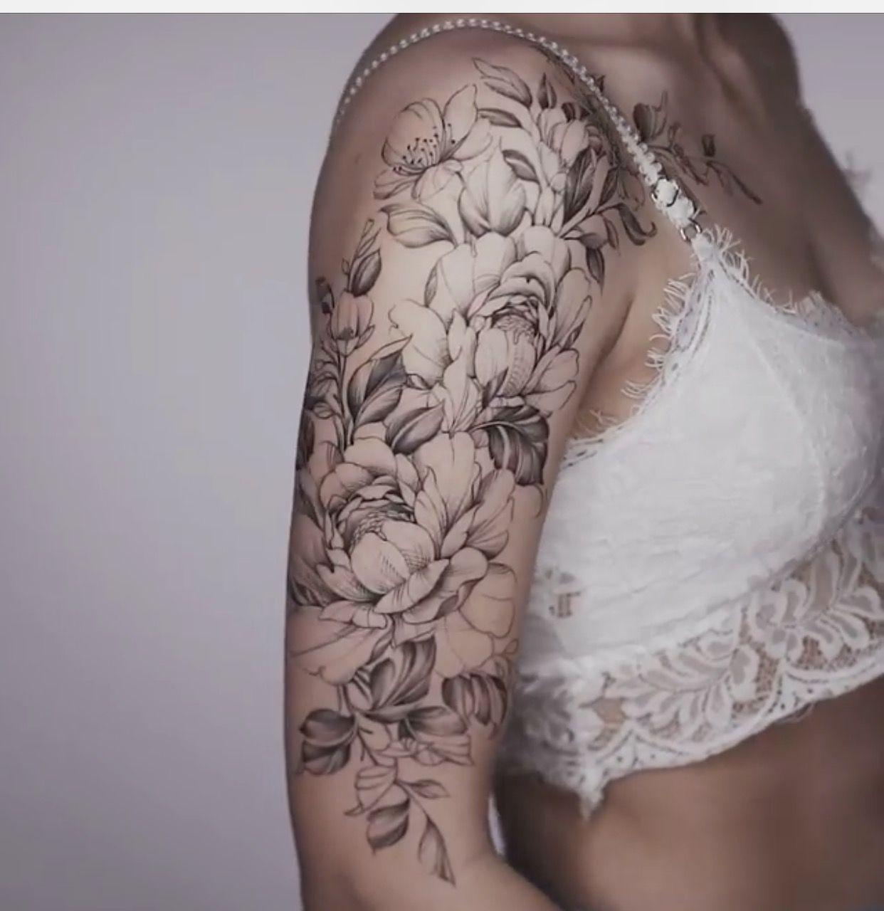 Tattoo Tattoosideas Tattooart Upper Half Sleeve Tattoos