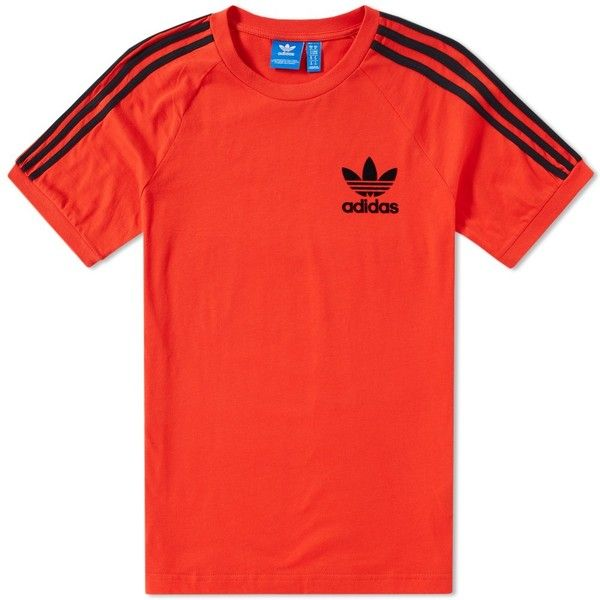 Adidas California Tee ( 25) ❤ liked on Polyvore featuring tops 0a278a94a30a