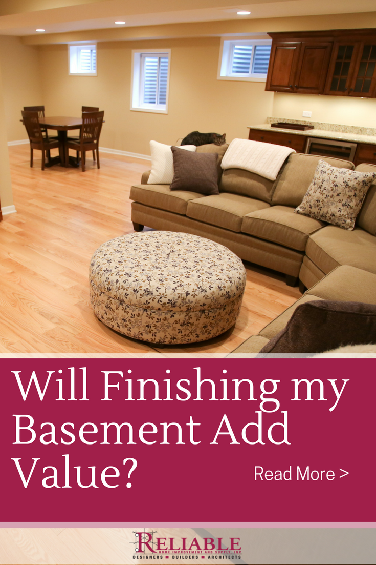 Will Finishing A Basement Add Value To My Home Home Home