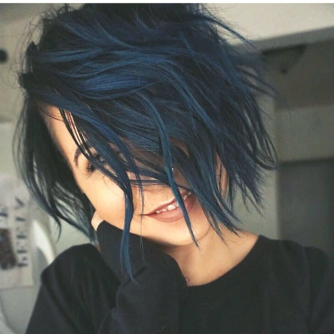 15 Cute Short Haircuts For A Smart Image In 2020 Hair Color For Black Hair Hair Color Unique Short Hair Color