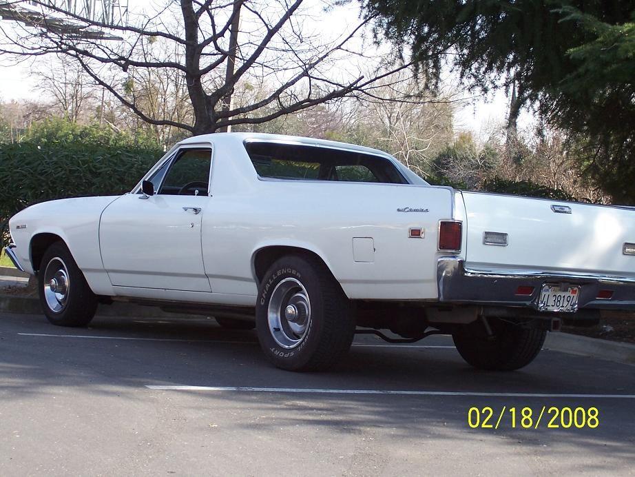 1969 Chevrolet El Camino.