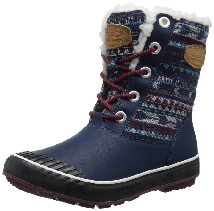 Women's Snow Boots Unique Designed Comfort Winter Boots Floral in Paisley Style