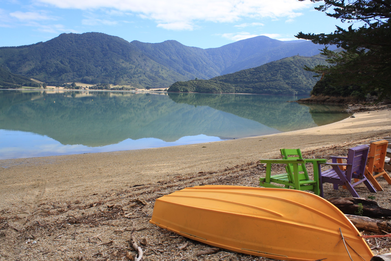 Colourful Sands Sandy Bay Kenepuru Sound New Zealand Big Adventure New Zealand Adventure