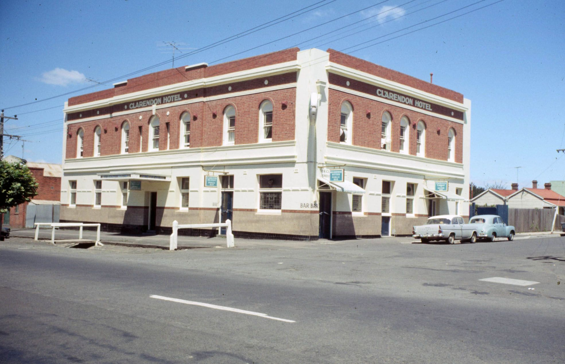 Cricket Club Aka Clarendon Hotel Cnr Clarendon Street And La Trobe Terrace Chilwell Historic Hotels Hotel Geelong