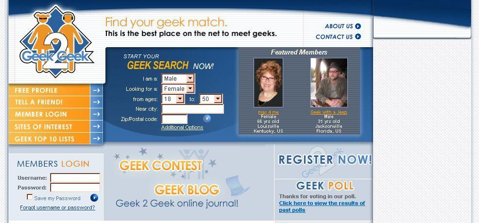 Gibt es eine Dating-Website für Geeks