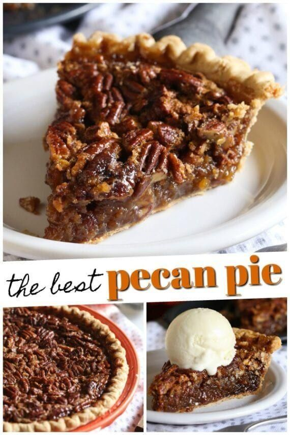 This easy pecan pie recipe is one of my favorite holiday desserts. A classic pec... - Pies -